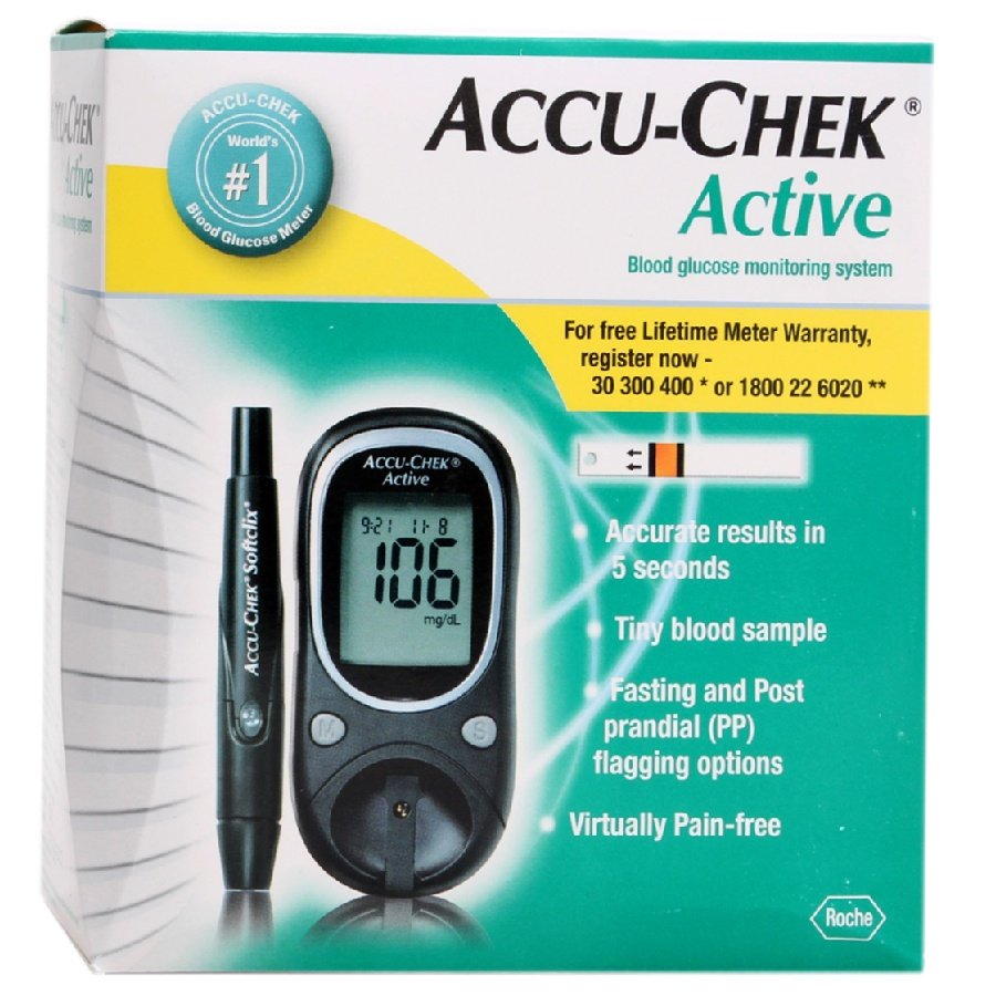 Accu Chek Active Blood Glucose Meter